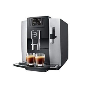 מכונת קפה מחודשת Jura E8 Silver